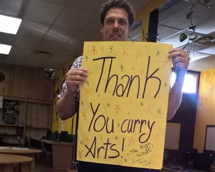 A BIG Thank You from Gold Beach Art Students