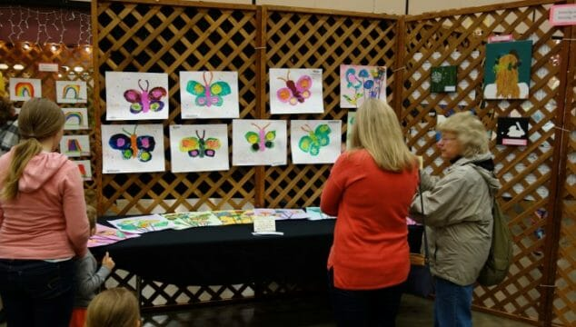 3rd Annual Gold Beach K-12 Student Art Show displays over 300 works